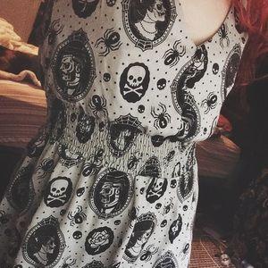 Sourpuss gothic dress